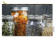Herbs In Jars Carry-all Pouch