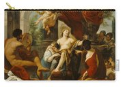 Hercules And Omphale Carry-all Pouch