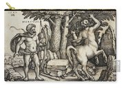 Hercules Shooting The Centaur Nessus Carry-all Pouch