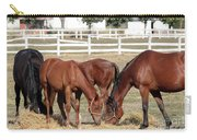 Herd Of Horses Ranch Scene Carry-all Pouch