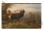 Herd Of Red Deer Carry-all Pouch