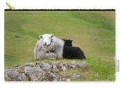 Herdwick Sheep On A Hillside In Cumbria Carry-all Pouch