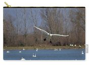 Here Come The Swans Carry-all Pouch