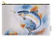 Here Fishy, Fishy Carry-all Pouch