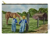 Here Horsey Horsey Carry-all Pouch