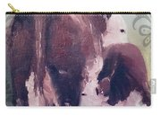 Hereford Cow Calf Carry-all Pouch