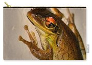 Heres Looking At You Carry-all Pouch by Kristin Elmquist