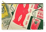 Heroes And Villans  Carry-all Pouch