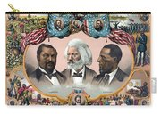 Heroes Of The Colored Race  Carry-all Pouch