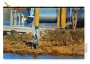 Heron Along The Shore Carry-all Pouch