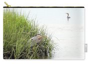 Heron And Cormorant Carry-all Pouch