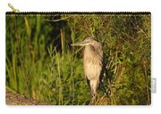 Heron At Sundown Carry-all Pouch
