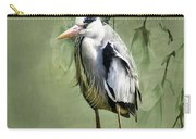 Heron Egret Bird Carry-all Pouch