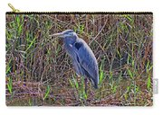 Heron In Marshes Carry-all Pouch