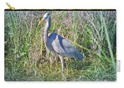Heron In The Wetlands Carry-all Pouch