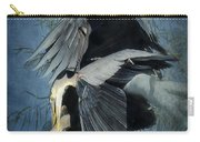 Heron Love  Carry-all Pouch
