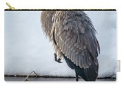 Heron On Ice Carry-all Pouch
