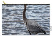 Heron On  Lake Guntersville Carry-all Pouch
