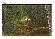 Heron On Path #g7 Carry-all Pouch