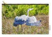 Heron On The Rise Carry-all Pouch