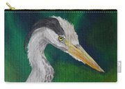 Heron Painting Carry-all Pouch
