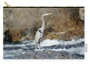 Heron The Rock Carry-all Pouch