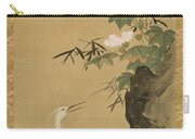 Herons And Cotton Roses Carry-all Pouch