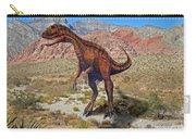 Herrarsaurus In Desert Carry-all Pouch
