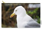 Herring Gull In Profile Carry-all Pouch
