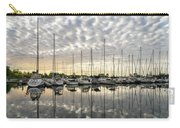 Herringbone Sky Patterns With Yachts And Boats  Carry-all Pouch