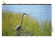 Herron In The Grasses Carry-all Pouch