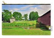Herr's Grist Mill And Covered Bridge Carry-all Pouch