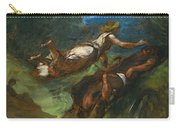 Hesiod And The Muse Carry-all Pouch