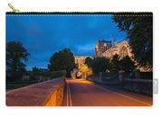 Hexham Abbey At Night Carry-all Pouch