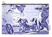 Hey Diddle Diddle The Cat And The Fiddle Nursery Rhyme Carry-all Pouch