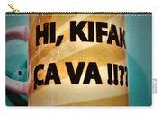 Hi Kifak Ca Va Mug In Lebanon  Carry-all Pouch