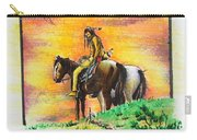Hi Lighter Pen Painting 2 Carry-all Pouch