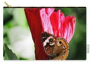 Hibiscus Aflutter Carry-all Pouch