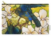 Hibiscus And Parrots Carry-all Pouch