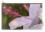 Hibiscus Bloom Pastel Carry-all Pouch