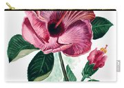 Hibiscus Dusky Rose Carry-all Pouch
