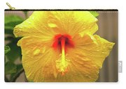 Hibiscus Flower After The Rain Carry-all Pouch