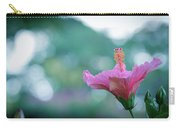 Hibiscus Flower In A Garden Carry-all Pouch