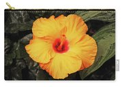 Hibiscus Flower Carry-all Pouch