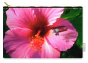 Hibiscus Fly-by Carry-all Pouch