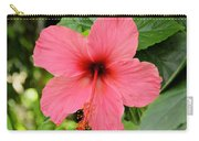 Hibiscus Front Carry-all Pouch