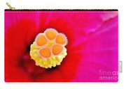 Hibiscus Glow Carry-all Pouch