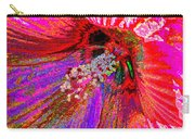 Hibiscus Macro Abstract Carry-all Pouch