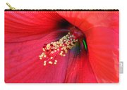 Hibiscus Macro Carry-all Pouch