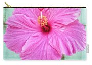 Hibiscus Squares Carry-all Pouch